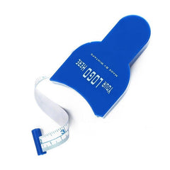 Customised Blue slimming waist measuring tool tape ,  corporate gifts