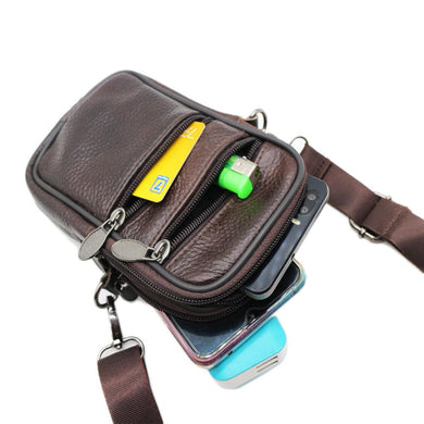 Corporate Gifts - Casual first layer leather purse
