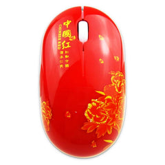 Customised Creative blue and white porcelain wireless mouse ,  corporate gifts