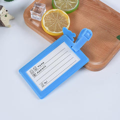 Customised Creative Cartoon Silica Gel Luggage Tag ,  corporate gifts