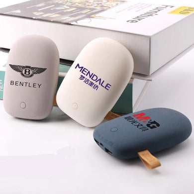 Corporate Gifts - Creative pebble high-capacity power bank