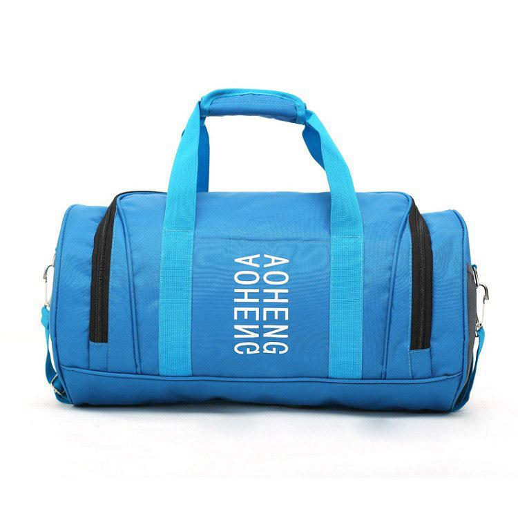Customised Cylinder shape fitness travel bag ,  corporate gifts