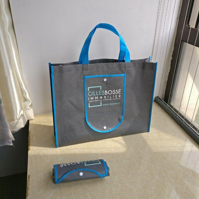 Customised Foldable non woven promotion bag ,  corporate gifts