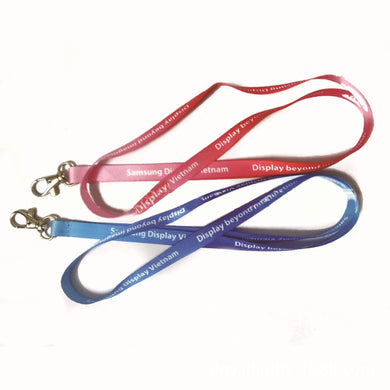 Customised Foreign trade imitation nylon thermal gift tie rope ,  corporate gifts
