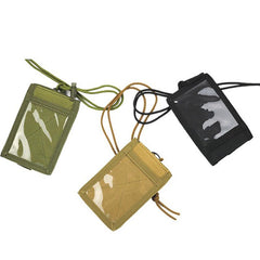 Corporate Gifts - Lanyard key ring document bag