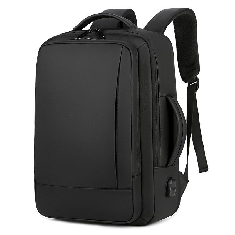 Customised Large capacity expansion USB waterproof backpack ,  corporate gifts