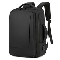 Corporate Gifts - Large capacity expansion USB waterproof backpack