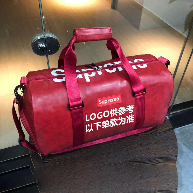 Customised Large capacity leather travel bag ,  corporate gifts