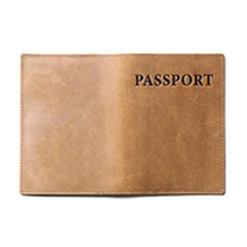 Customised Leather passport holder ,  corporate gifts