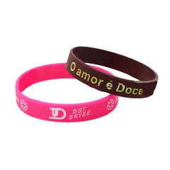 Corporate Gifts - Lettering logo sports wrist band