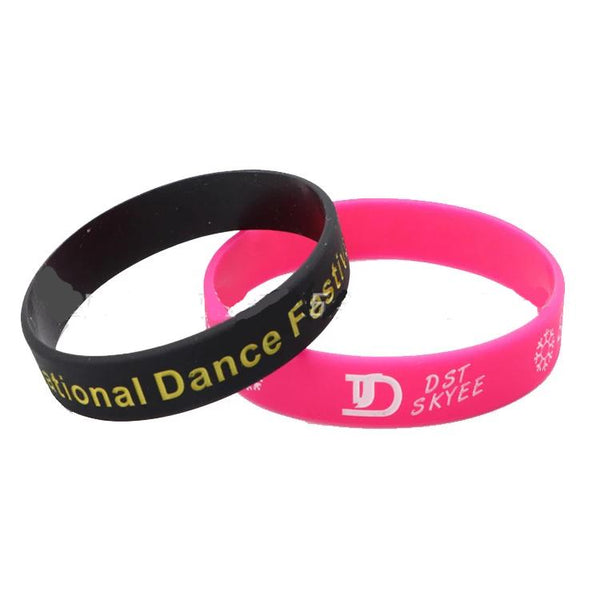 Customised Lettering logo sports wrist band ,  corporate gifts