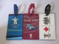 Customised Luggage tags each country logo ,  corporate gifts