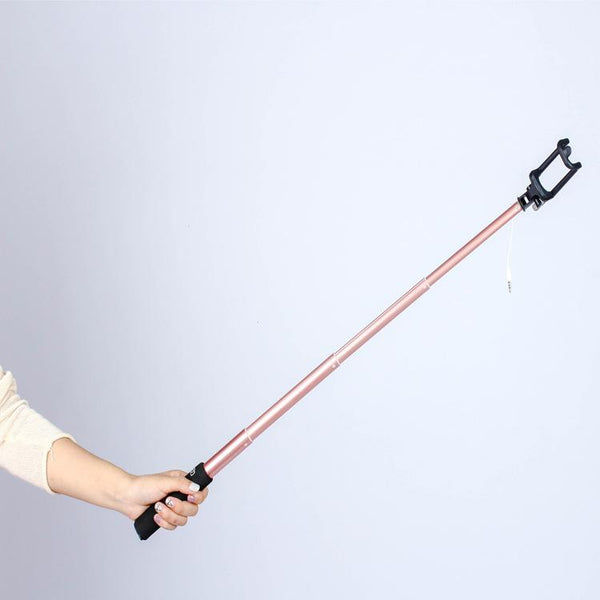Customised Multi-function Bluetooth remote control shrink selfie stick ,  corporate gifts