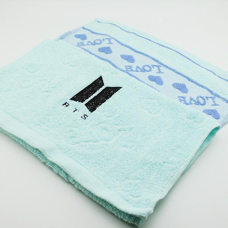 Customised New Sign Embroidered Cotton Towel ,  corporate gifts