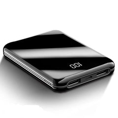 Customised New ultra-thin mirror mini mobile power bank ,  corporate gifts