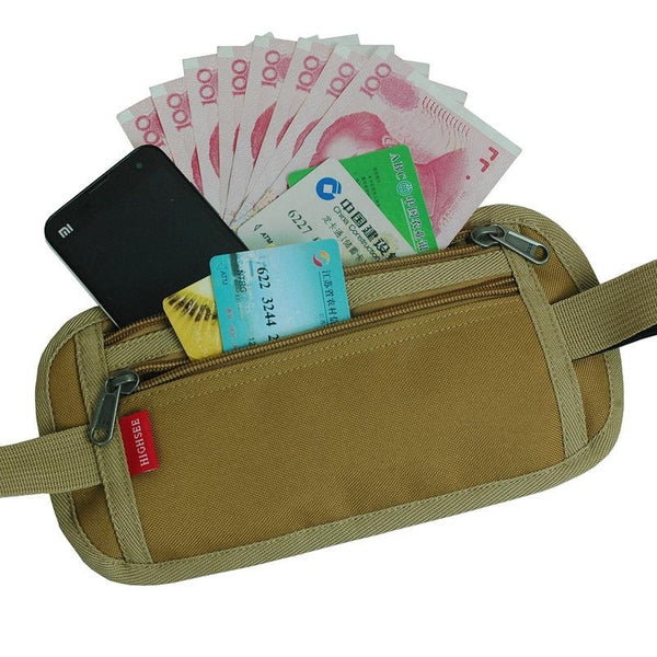 Customised Outdoor anti-theft multi-functional card bag ,  corporate gifts