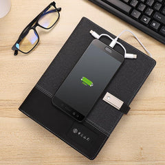 Corporate Gifts - Power Notebook Wireless Mobile Charger