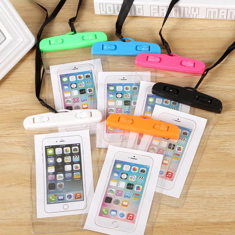 Corporate Gifts - PVC mobile phone waterproof bag