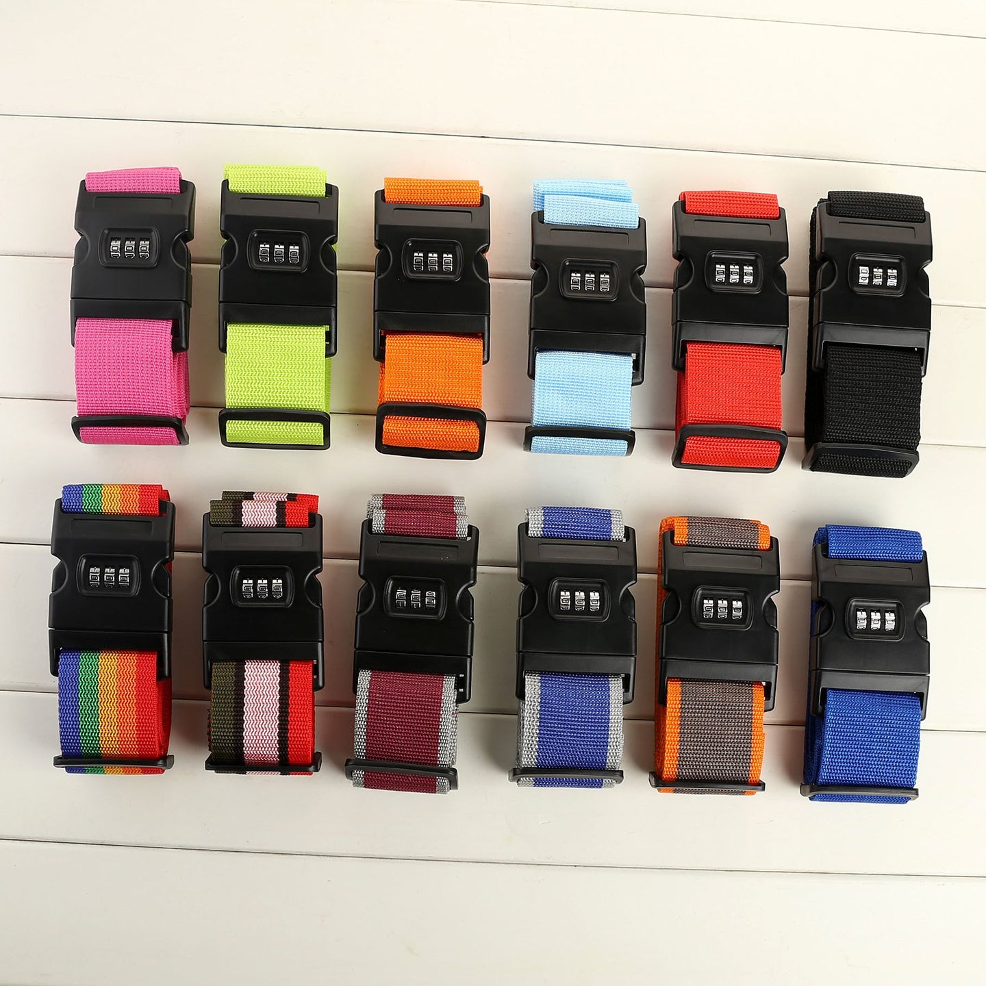 Corporate Gifts - Rainbow Code Lock Customized Packing Belt