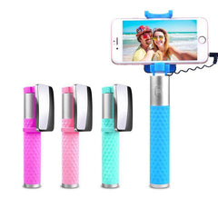 Customised Self-timer lever metal selfie stick ,  corporate gifts