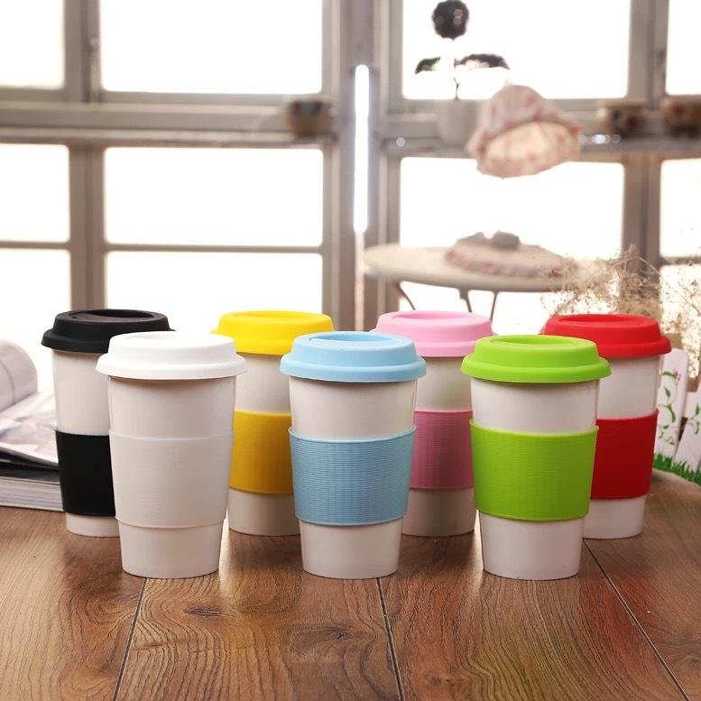 Corporate Gifts - Silicone anti-scalding mugs