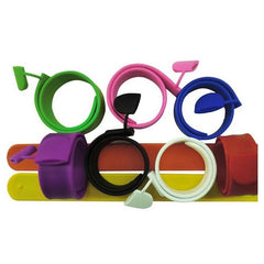 Corporate Gifts - Silicone snap ring wrist strap USB