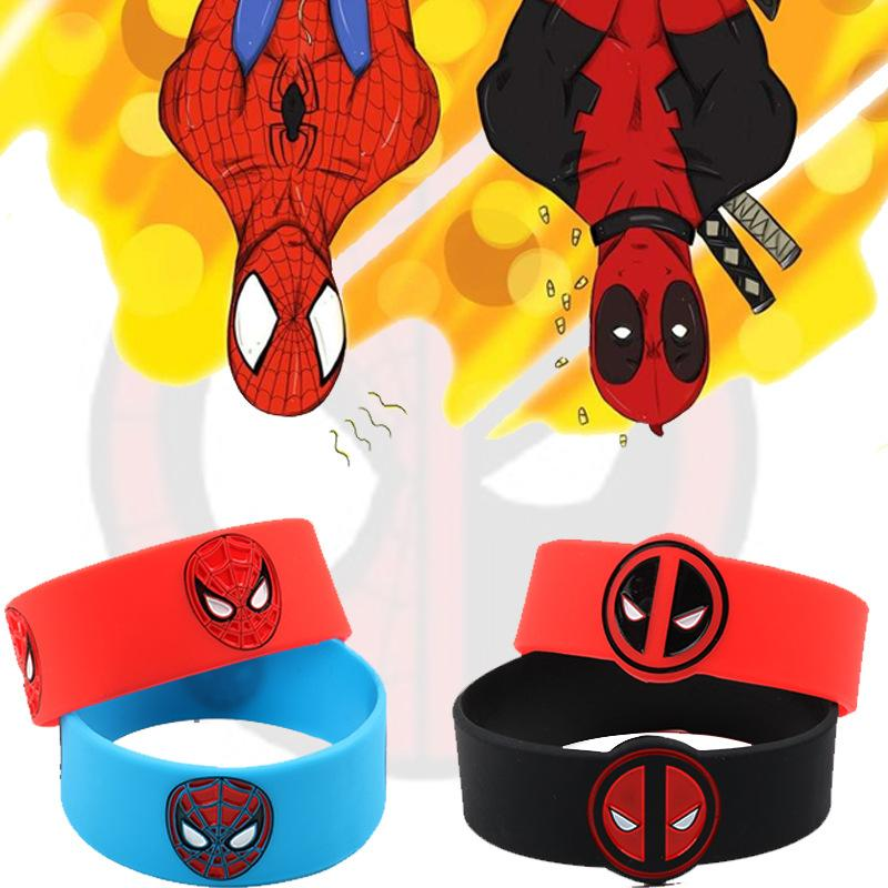 Corporate Gifts - Spider Man two color wrist bracelet