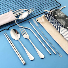Customised Stainless steel cutlery kit spoons ,  corporate gifts