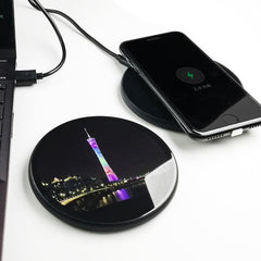 Customised Ultra-thin Mobile Wireless Charger ,  corporate gifts