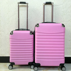 Customised Universal wheel zipper suitcase ,  corporate gifts