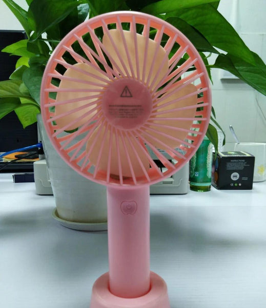 Customised USB rechargeable handheld portable fan ,  corporate gifts