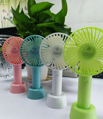 Corporate Gifts - USB rechargeable handheld portable fan