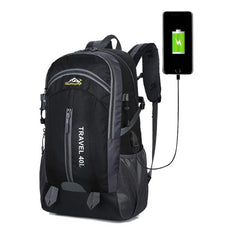 Corporate Gifts - Waterproof Backpack with USB Charging