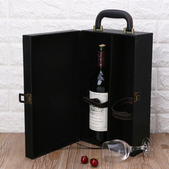 Customised Leather Wine Box ,  corporate gifts