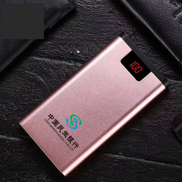 Customised Logo Printed 20000mAh Mobile Phone Power Bank ,  corporate gifts