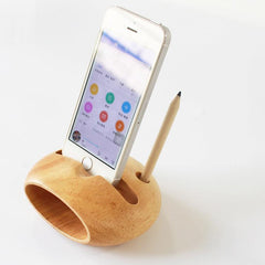 Customised Wood Mobile Sound Amplifier Electric less ,  corporate gifts