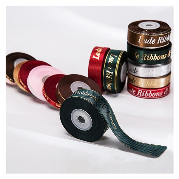 Customised Gilding Silver Printing Ribbon ,  corporate gifts