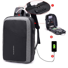 Customised Anti-Theft USB charging Electronic storage Bag ,  corporate gifts