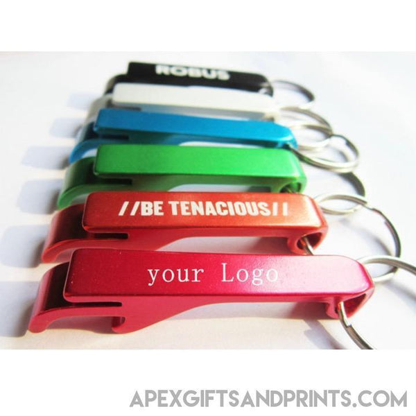 Customised Metallic Bottle Opener Keychain ,  corporate gifts