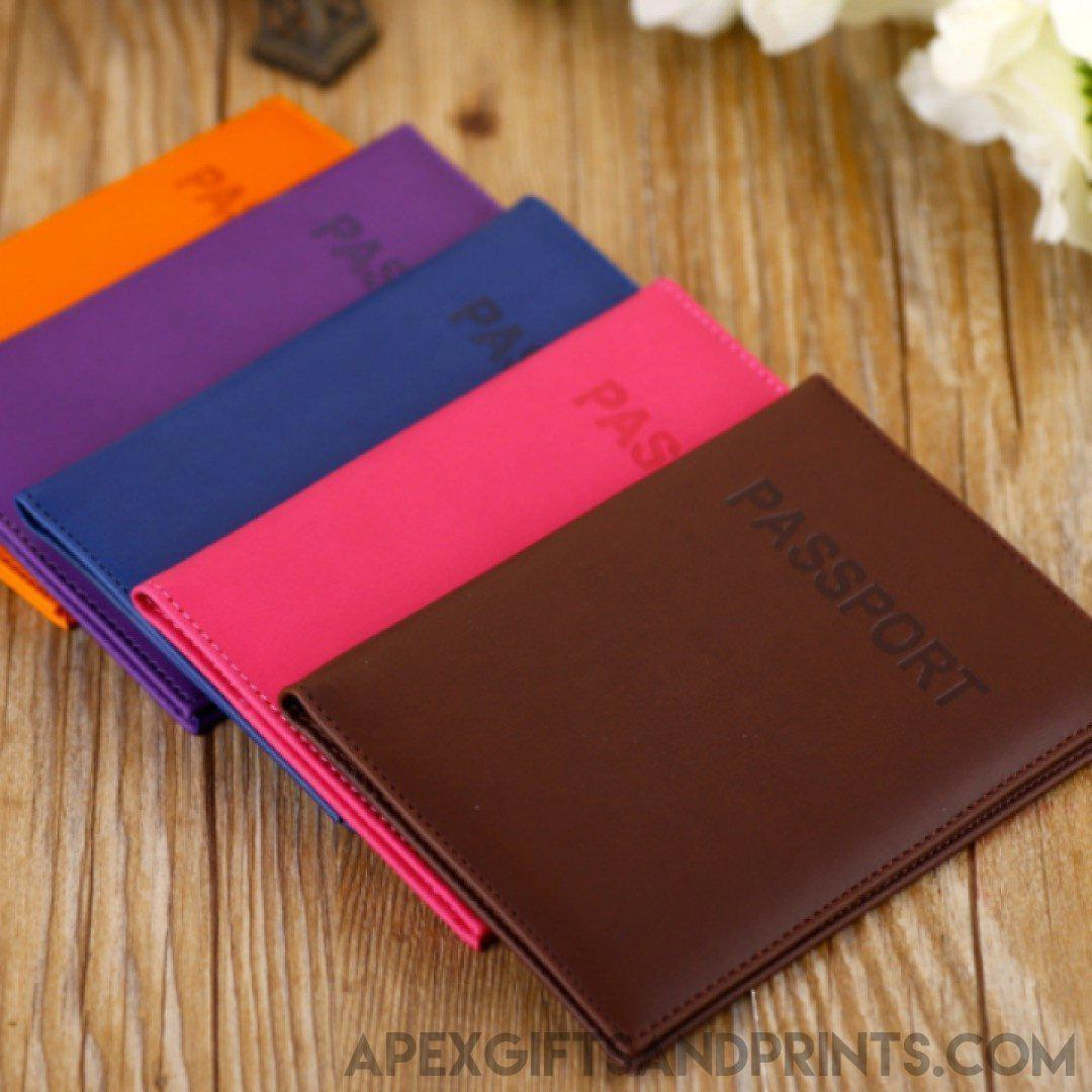 Customised PU Passport Holder ,  corporate gifts