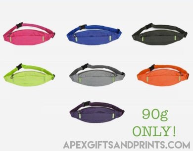 Customised Reflective Waist Pouch ,  corporate gifts