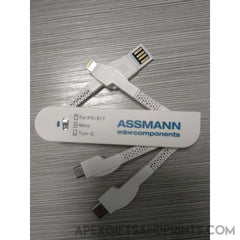 Customised Swissvel Charging Cable ,  corporate gifts