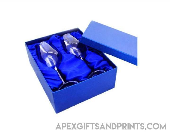 Customised Wine Glass Set ,  corporate gifts