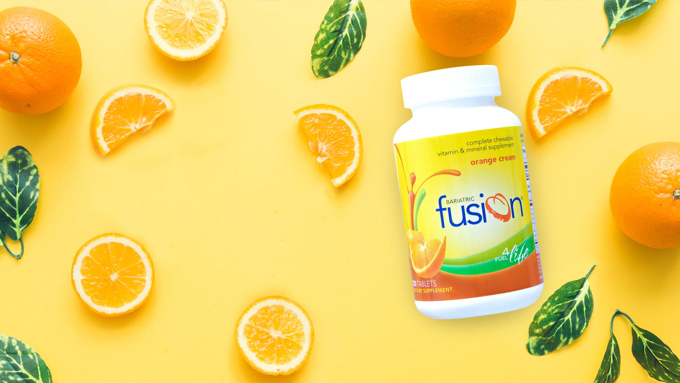 Bariatric Fusion Great Tasting Multivitamins, Proteins, and Supplements for Weight Loss Surgery Patients.