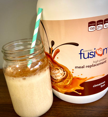 Bariatric Fusion Cinnamon Bun Protein Meal Replacemnet