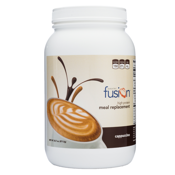 Cappuccino High Protein Meal Replacement - Bariatric Fusion