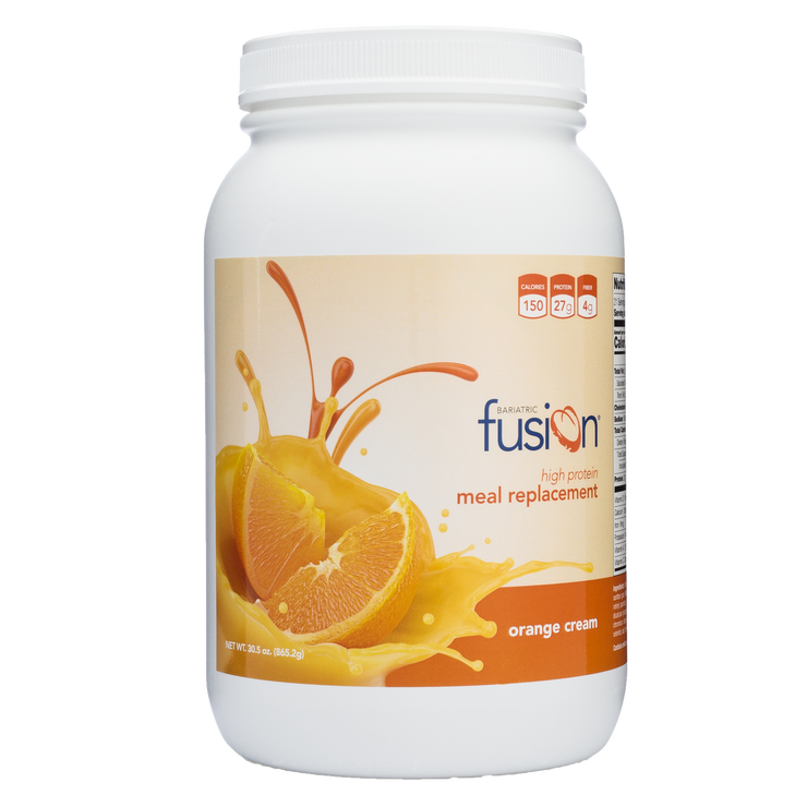 Orange Cream High Protein Meal Replacement - Bariatric Fusion