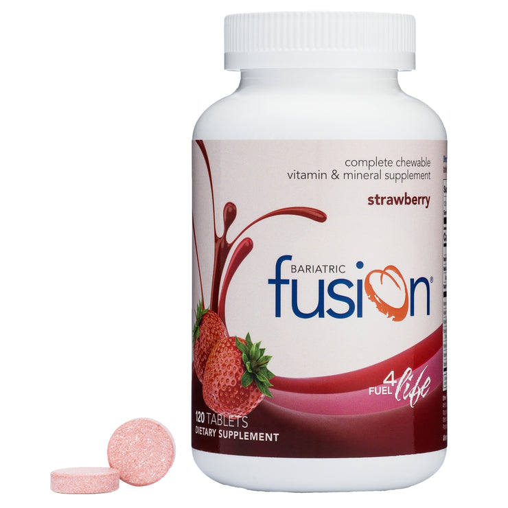 Bundle and Save - Strawberry Complete Chewable Bariatric Multivitamin - Bariatric Fusion