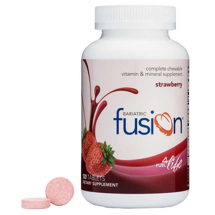 Strawberry Complete Chewable Bariatric Multivitamin - Bariatric Fusion