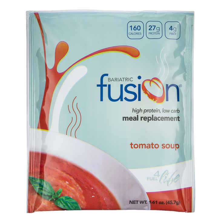 Tomato Soup High Protein Meal Replacement - Single Serve Packet - Bariatric Fusion